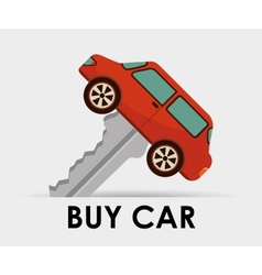 buy car vector image