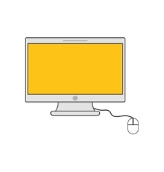 Computer device gadget icon vector