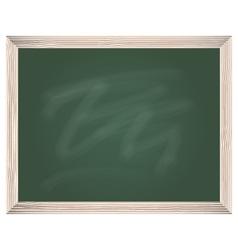 Green chalkboard vector