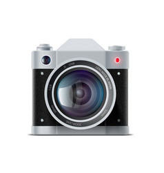 icon film camera vector image