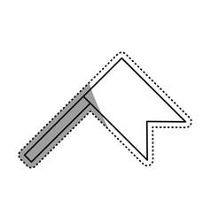 Map flag marker vector