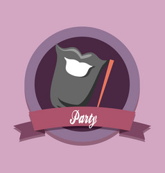 party concept design vector image