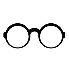 eyeglasses for reading icon simple style vector image