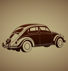 Sweet old auto vector image vector image