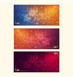 a festive bright background vector image