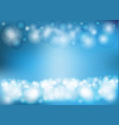 circular light blue background vector image