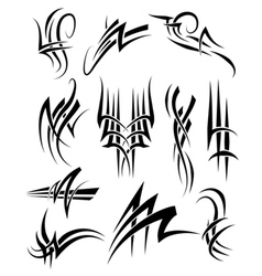Tribal Frills vector image