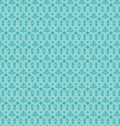 Aqua seamless paisley vector