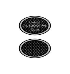 automotive logo design vector image