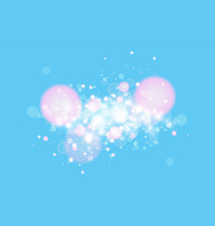 Blue background with light effect abstract vector