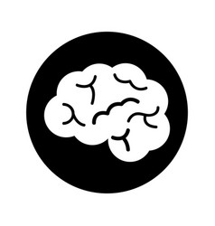 Brain organ human icon vector