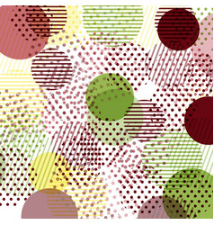 Cards patterns at the background vector