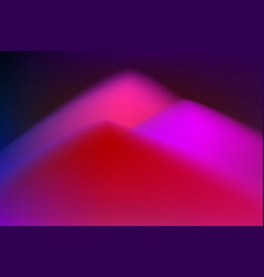 Fantasy fluid duotone landscape vector