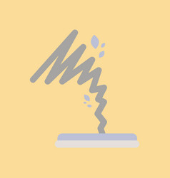 Flat icon on stylish background disaster tornado vector