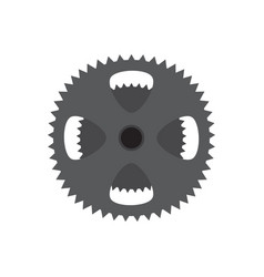 Gear of a bike vector