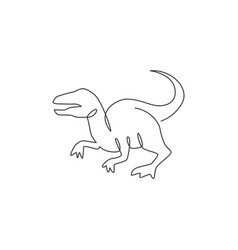 One continuous line drawing aggressive vector