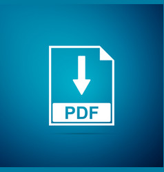 pdf file document icon download pdf button sign vector image
