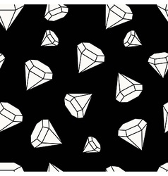 Gemstones are forever vector image