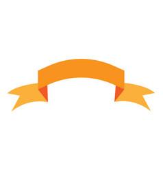 ribbon gold sign 1503 vector image