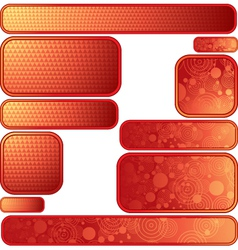 texture frames vector image vector image