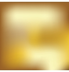 Abstract blured gold background vector