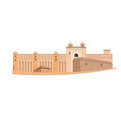 Amber fort vector