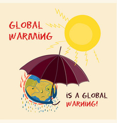 Climate change global vector