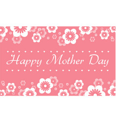 Collection card mother day style vector