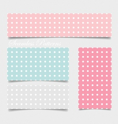 Cute patterns and seamless backgrounds Ideal for vector image