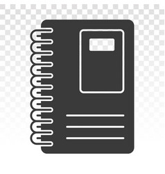 Diary book or journal flat icons for apps vector