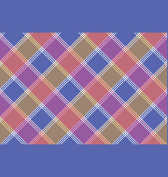 mosaic diagonal fabric texture seamless pattern vector image