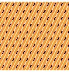 Orange and blue diagonal stripes pattern vector