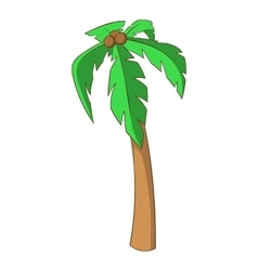 Palm icon cartoon style vector