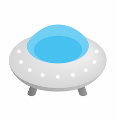 UFO 3d isometric icon vector