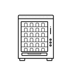Vending machine vector