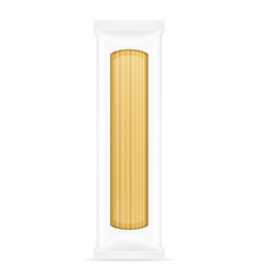 pasta in packaging 01 vector image vector image