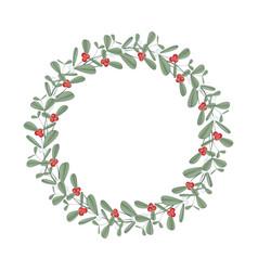 christmas string lights vector image