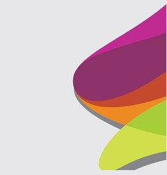 abstract color background vector image