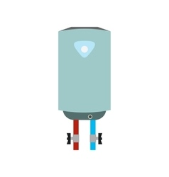 Boiler flat icon vector image