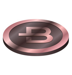 bytecoin virtual money currency cryptocurrency vector image