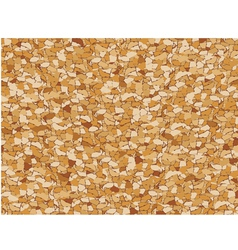 cork seamless pattern vector image