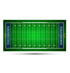 Detailed of an american football fields eps10 vector