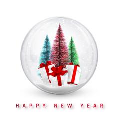 Festive christmas background christmas pine tree vector