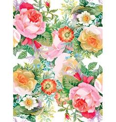Floral decorative background vector