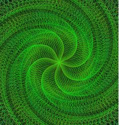 Green computer generated digital design background vector