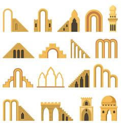 Moroccan contemporary abstract geometric vector