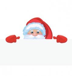Santa Claus background vector