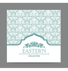 Vintage card design for greeting card invitation vector image vector image