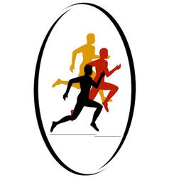 Marathon race vector image