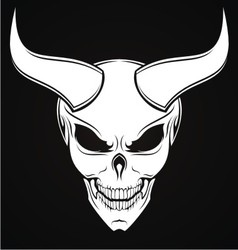 Horned Evils vector image vector image